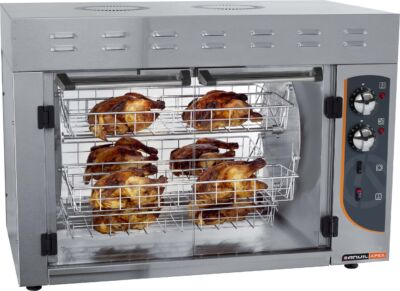 ANVIL GCA008 8 Bird Chicken Rotisserie-2351