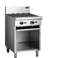 Cobra CB6 600mm Char Grill with Open Cabinet Base-0