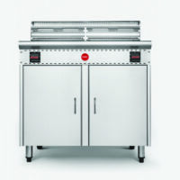 Cook On FFR-2-460S Commercial Deep Fryer -0