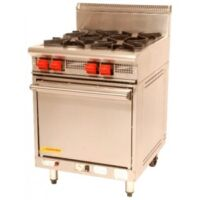 Cook On GR4 4 Burners Static Oven -0
