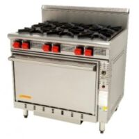 Cook On GR6 6 Burner Static Oven -0