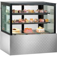 Belleview SG200FA-2XB Commercial Chilled Food Display -0