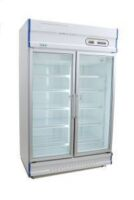 Anvil GDJ1261 Double Glass Door Upright Display Freezer - 1000L-0