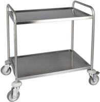 FED SST-2 - Stainless Steel 2 shelf trolley-0