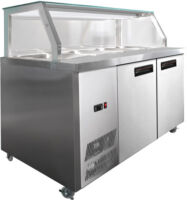 F.E.D. PG180FA-Y Chilled Bain Marie Food Display-0