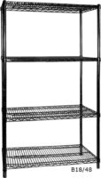 B18/24 Four Tier Shelving - 457 mm deep 1880 high-0