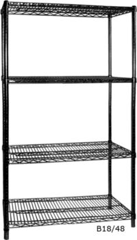 B24/36 Four Tier Shelving - 610 mm deep 1880 high-0