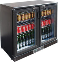 FED SC248G two door Drink Cooler-0