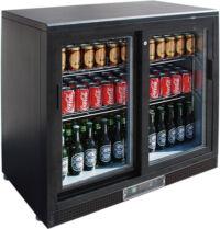 FED SC248SD double sliding door Drink Cooler-0
