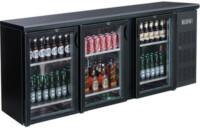 FED BC3100G three door Drink Cooler-0