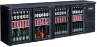 FED BC4100G Four door Drink Cooler-0