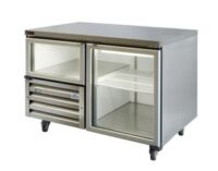 Anvil UBG1200 Glass Door Undebar Fridge -0
