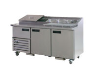 Anvil UBP2400 Pizza Prep Fridge-0