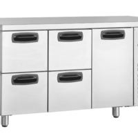 Anvil UBD4000 Inomak Under Bench Commercial Draw Fridge-0