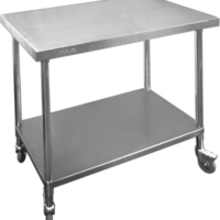 WBM7-2400 Stainless Steel Mobile Workbench-0