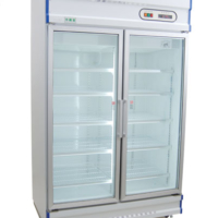 Anvil GDJ1260 Double Glass Door Upright Fridge - 1000L-0