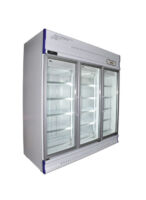 Anvil GDJ1880 3 Glass Door Upright Display Fridge - 1610L -0
