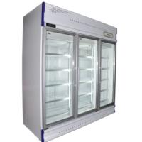 Anvil GDJ1880 3 Glass Door Upright Display Fridge - 1610L -0