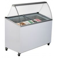 GD0007S Bromic - Commercial Ice Cream Gelato Display 7 Tubs-0
