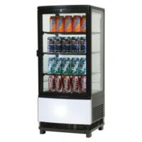 Bromic CT0080G4BC - Countertop Beverage Chiller Curved Glass-0