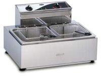 Roband F111 Single pan/double basket Commercial Deep Fryer-0