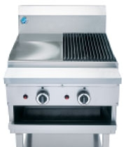 B&S CGR3-GRP3 Combination Char Grill & Grill Plate -0