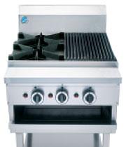 B&S BT-SB2-CGR3 Boiling Top & Char Grill -1114