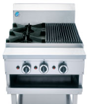 B&S BT-SB2-CGR3 Boiling Top & Char Grill -2079