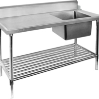 SSB7-1500 Single Stainless Steel Sink Bench-0