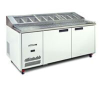 Williams JADE HJ2PCBA Pizza Prep fridge-0