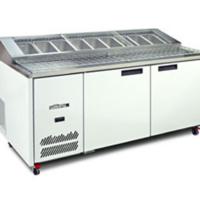 Williams JADE HJ2PCBA Pizza Prep fridge-0