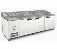 Williams JADE HJ3PCBA Pizza Prep fridge-0