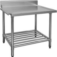 WBBD-7-2100 Stainless Steel Dishwasher Outlet Bench-0