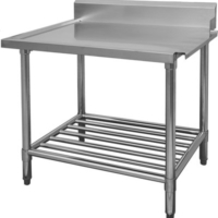 WBBD-7-2400 Stainless Steel Dishwasher Outlet Bench-0