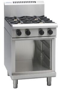 Waldorf RN8400G-CB 4 Burner Gas Cooktop - Cabinet Base-0