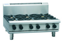 Waldorf RN8600G-B 6 Burner Gas Cooktop - Bench Model-0