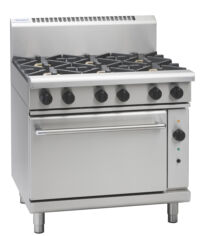 Waldorf RN8610GC 6 burner gas range convection oven-0