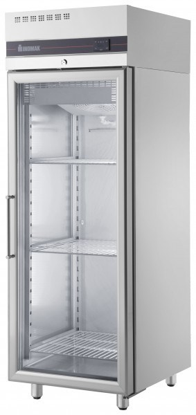 Inomak UFI1170G Single Glass Door Upright Fridge - 654L -0