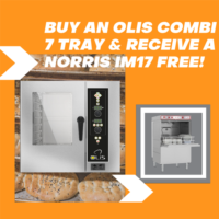 7 tray Combi with free glasswasher