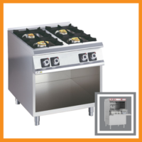 OLIS 4 Burner CG Open Cabinet with free IM17